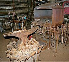 Blacksmith Shop by Linda Yates