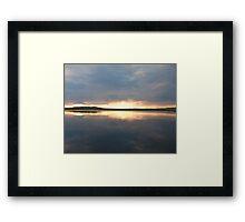 Turee Sunset Framed Print