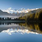 Lake Matheson by Paul Mercer