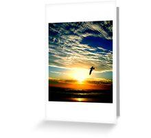 SUNRISE FLIGHT (SPIRITUALITY) Greeting Card