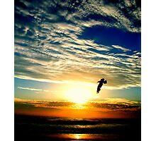 SUNRISE FLIGHT (SPIRITUALITY) Photographic Print