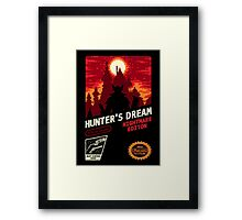 HUNTER'S DREAM Framed Print