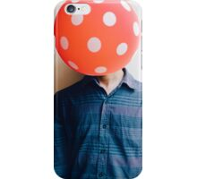 balloon head iPhone Case/Skin