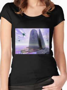Tower Women's Fitted Scoop T-Shirt