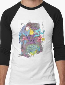 The Frightened Empress Men's Baseball ¾ T-Shirt