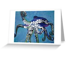 Mirrored Octopus Greeting Card