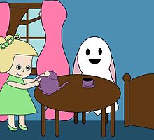 Ghost Tea Party by ValeriesGallery