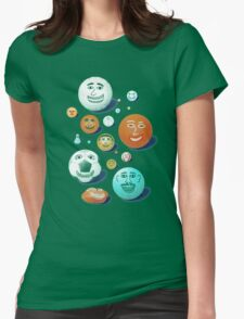 LAST FRIENDS ON EARTH Womens Fitted T-Shirt