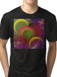 Enjoy The Silence-Abstract ART + Product Design Tri-blend T-Shirt