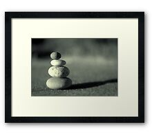 No method Framed Print