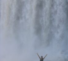 Argentine side of Iguazu Falls- ME UP CLOSE TO THE EXHILARATION! by fifotos