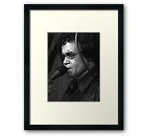Bobby Parker  Framed Print