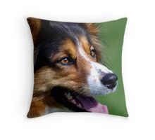 Good Girl Throw Pillow