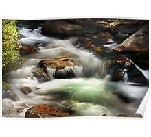 American Fork River - Currents Poster