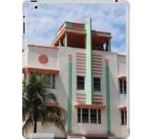 Miami Art Deco Hotel #2 iPad Case/Skin