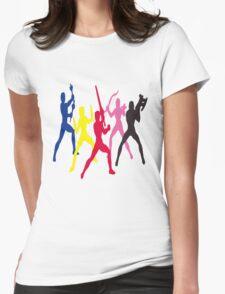Mighty Morphin Power Rangers Silhouette 1 T-Shirt
