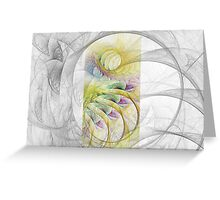 Fractal Sketching Greeting Card
