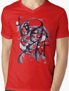 Fluidism - A portrait Mens V-Neck T-Shirt