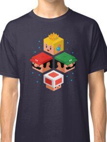 MUSHROOM KINGDOM CUBES Classic T-Shirt