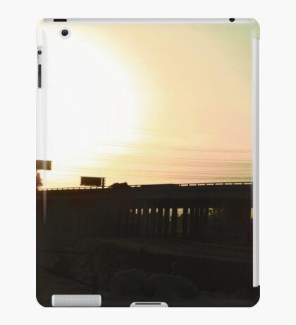 The Freeway At Sunset iPad Case/Skin