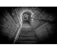 Ho5 WWII Tunnel Escape Shaft Photographic Print