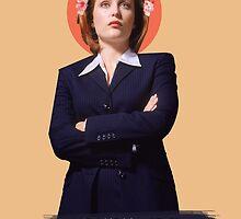 Dana Scully by fabsgivens