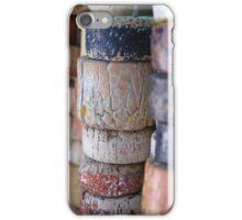 Fishing Net Cork Floats iPhone Case/Skin