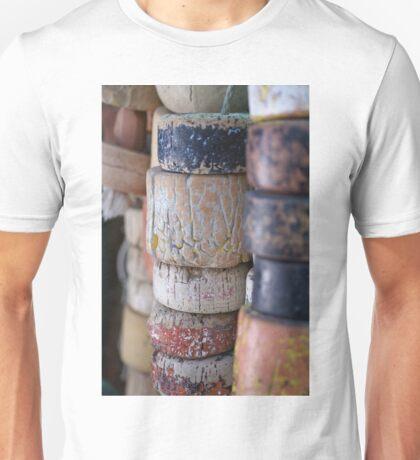 Fishing Net Cork Floats Unisex T-Shirt