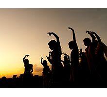evening dance Photographic Print
