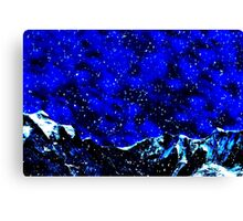 The Perfect Snowstorm Fine Art Print Canvas Print