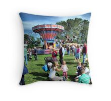 All the fun of the Fair at Hawkesbury Upton Show. Throw Pillow