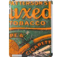 Tuxedo Tobacco iPad Case/Skin