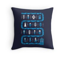 WHO'S OUTSIDE Throw Pillow