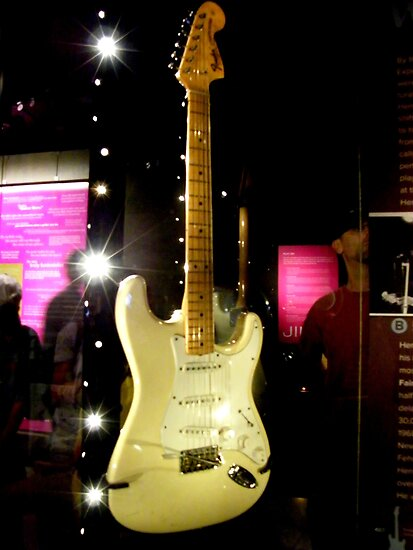 Jimi Hendrix guitar...... by DonnaMoore