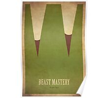 Beast Mastery Hunter - WoW Minimalism Poster
