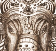Ganesha - Lucky God - Hindu God of Wisdom Sticker