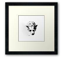 Shelby Such Wow Framed Print