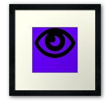 pokemon psycho eye Framed Print