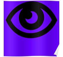 pokemon psycho eye Poster