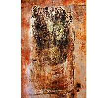 Rusty Canvas Photographic Print