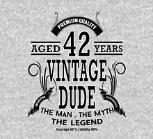vintage dud aged 42 years Unisex T-Shirt