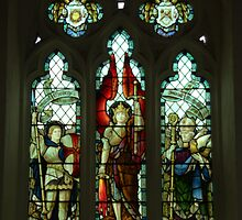 St George, St Michael & St Nicholas by John Thurgood