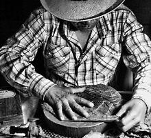 Cuban Cigar Maker by Hugh Smith