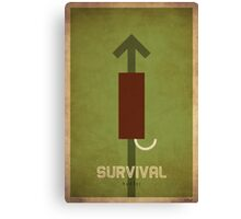 Survival Hunter - WoW Minimalism Canvas Print