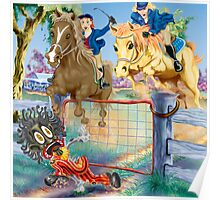 The Golden Saddle Pony Club Annual Meet Poster
