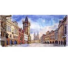 Prague Old Town Square 01 Photographic Print