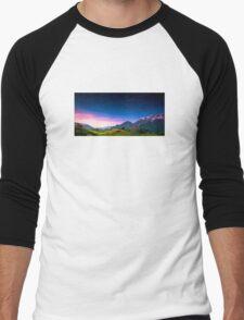 Sunset Hills Men's Baseball ¾ T-Shirt