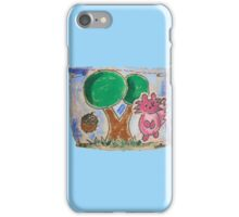 Squirrel & Tree iPhone Case/Skin