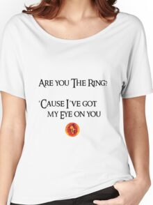Lord Of The Rings Pick-Up Line (Light) Women's Relaxed Fit T-Shirt