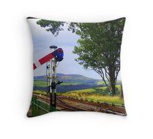 Country Railway Throw Pillow